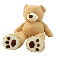 1pc Huge Size 200cm USA Giant Bear Skin Teddy Bear Hull Good Quality Wholesale Price Selling Toys Birthday Gifts For Girls