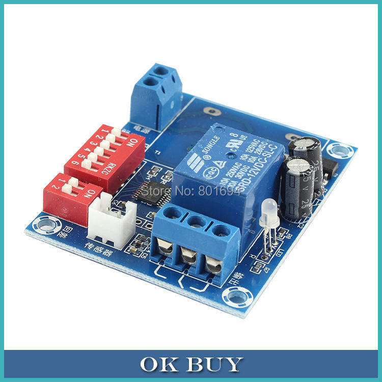 DC 12V -26~100 Degree Celsius Adjustable Cooling/Heating Temperature Controller DIP Swit ...