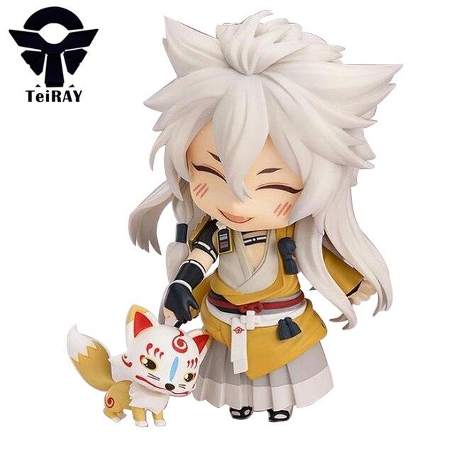 Game Touken Ranbu Online Goodsmile Kogitsunemaru Fox Ball Figma 10cm Japanese Anime Vocaloid Pvc Figures Kids