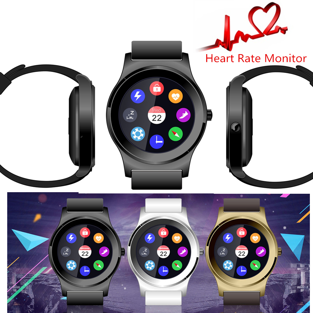 ФОТО Hot sale! 2016 New NeeCoo V3 Heart Rate Monitor Smart Watch Bluetooth 4.0 Pedometer Music Wristband SmartWatch For Android IOS S