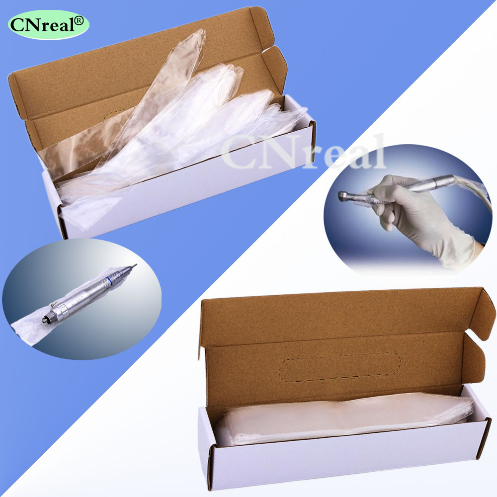 US $14 98 |1 box (500 pieces) Disposable Dental Plastic Sleeves for High  Speed/Low Speed Handpiece-in Teeth Whitening from Beauty & Health on