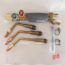 Tocha de soldagem de alta qualidade, tipo japonês, tocha a jato, ferramentas de solda a gás, acetileno de oxigênio, pistola de soldagem portátil