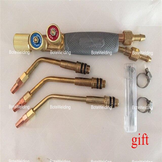 고급 용접 토치 일본어 유형 제트 토치 가스 용접 도구 산소 아세lene 휴대용 프로판 용접 총
