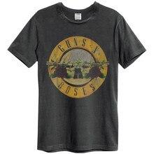 Funny Men T Shirt Women Novelty Tshirt Guns N Roses Drum Slim Fit T Shirt Homme High Quality