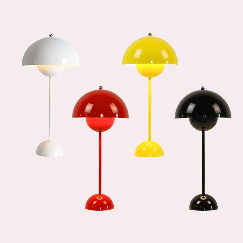 Weiß/schwarz/gelb Moderne Tisch Lampe Kreative Eisen Schreibtisch Licht Für Wohnzimmer Nacht Studie Tisch Licht Innen Beleuchtung Dekor Zahlreich In Vielfalt