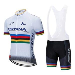 Image 5 - 2020 DE ASTANA squadra di Ciclismo jersey 20D bike shorts vestito Ropa Ciclismo MENS di estate quick dry Ciclismo Maglia di usura inferiore