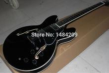 Neue höchste Qualität Dot figured Glanz Jazz E-Gitarre