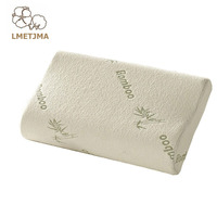 LMETJMA Memory Bamboo Fiber Pillow Slow Rebound Bamboo Pillow Comfortable Health Care Memory Foam Pillow Sleep