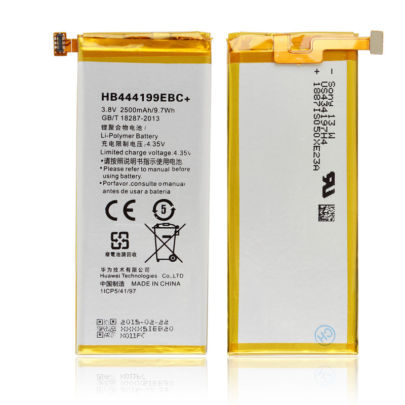 Original Huawei HB444199EBC Rechargeable Li-ion phone battery For Huawei honor 4C C8818 CHM-UL00 CHM-TL00H CHM-CL00