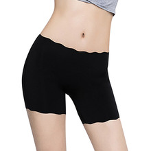 COLORIENTED Super Elastic Safety Short Pants Anti Chafing Thigh Shorty Female Boxer Frilly Panties Seamless Boyshort Smooth Soft