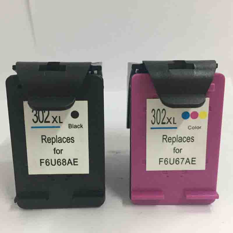 Vilaxh 302xl Replacement <font><b>Ink</b></font> Cartridge for <font><b>HP</b></font> <font><b>Deskjet</b></font> <font><b>2130</b></font> 1112 3630 Officejet 4650 4655 ENVY 4516 <font><b>Printer</b></font> image