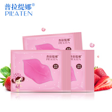 5pcs/lot Pilaten Moisturizing Collagen Nourishing Lip Mask lip plumper bioaqua Lips stickers labios holika care