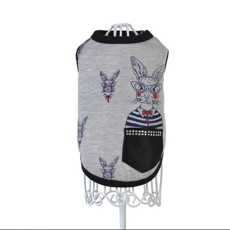 Warm Cat Dog Vest Suit Puppy Chihuahua Velvet Jacket Bulldog Pet Clothes Tshirt Dog Shirt Yorkshire Terrier Dog Clothes Summer