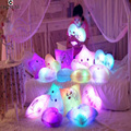 Горячие продажа творческий сердце pattern подушка освещения музыка подушку милые игрушки мода хорошо спать 5 цветов S4ZT022