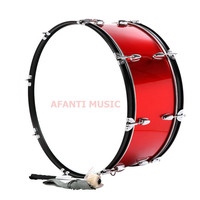 22 Inch Red Afanti Music Bass Drum BAS 1521