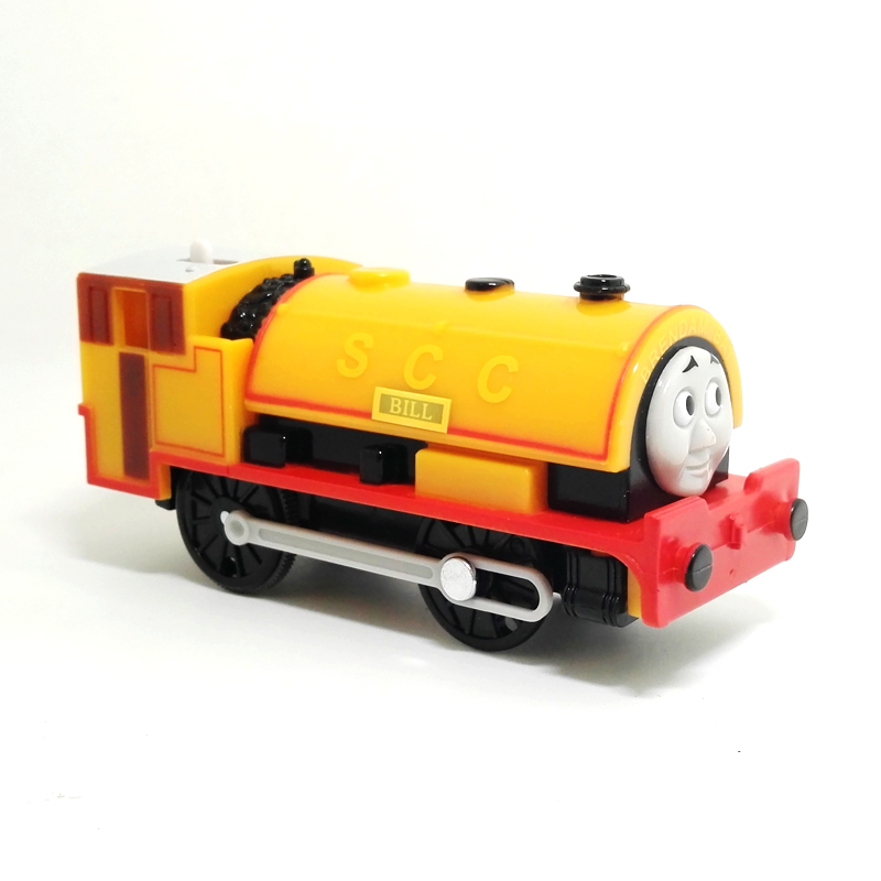 x114 Kids Toys Electric Thomas Train BILL Thomas And Friends Magnetic Thomas Truck Locomotive Engine Railway gift for boys