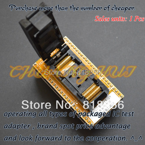 IC ТЕСТ Раскладушка WL-TSOP48-U2 WL-TSOP48-U1 TSOP48 в DIP48 Программист Адаптер Адаптер/гнездо испытания