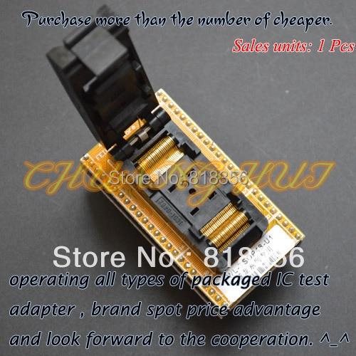 IC TEST Clamshell TSOP48 to DIP48 Programmer Adapter WL-TSOP48-U1 WL-TSOP48-U2 Adapter/test socket