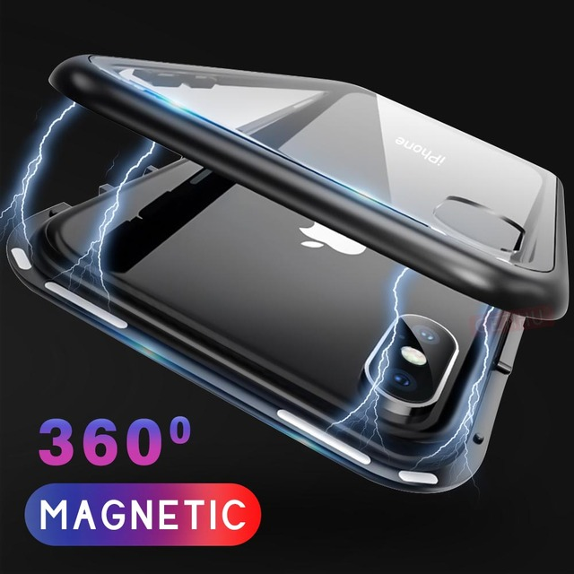 iphone xs coque aimant