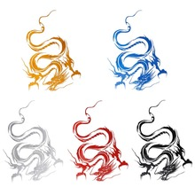 лучшая цена Adeeing Reflective Dragon Totem Scratching Decals Car Stickers Full Body Car Head Styling Sticker outdoor car stickers