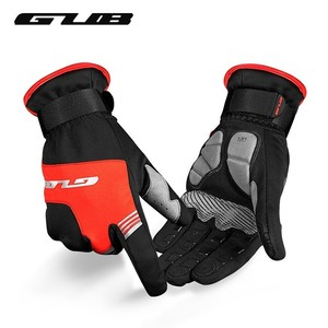 GUB S089 Full Finger Cycling Gloves Touch-Screen Bicycle Gloves Winter Warm Windproof Waterproof Anti-slip MTB Bike Gloves