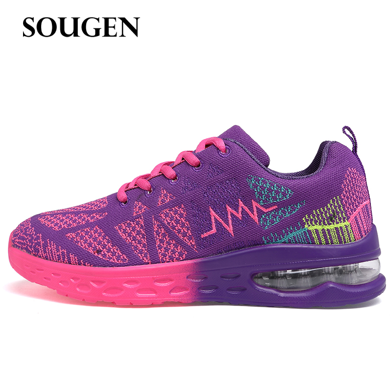 Sneakers Men Sports Shoes Male Running Training Air Shoe for Woman Female Ladies Spring Summer Breathable Spor Krasovki New 2018