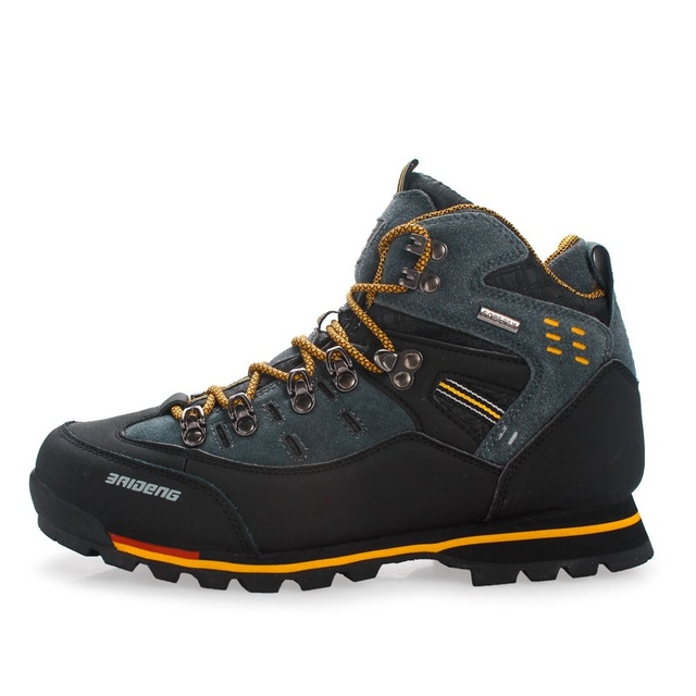 High Top Men Causual Shoes Fashion High Quality Leather Shoes Hot Sale Brand Waterproof Outdoor Shoes For All Season B298