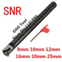 1 шт. SNR0013M16 SNR0008K11 SNR0008K11 SNR0010K11 SNR0012M11 SNR0016Q16 SNR0020R16 SNR0025S16 ЧПУ прямой соединитель с внутренней резьбой для проворачивания