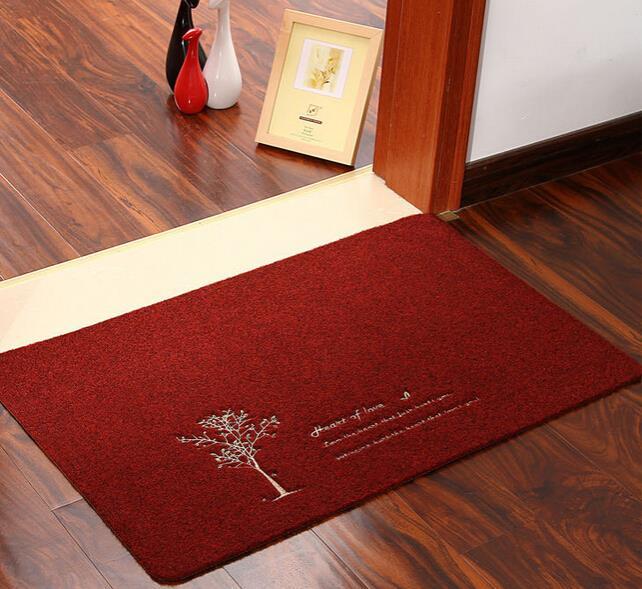 4 designs nonslip kitchen floor mat antislip bathrooom carpet tapete water absorption