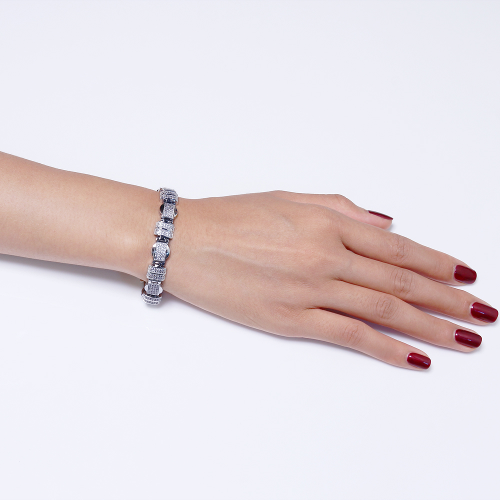 Image 3 - 20.5cm long rectangle Bracelets