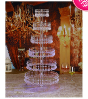 wedding transparent acrylic Cake Stand cupcake display chandelier,Table Centerpiece