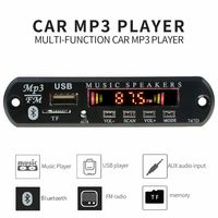 avtagnitola radio bluetooth car radio Wireless car audio USB TF FM Decoder Board MP3 WMA Player with Remote Control Bluetooth