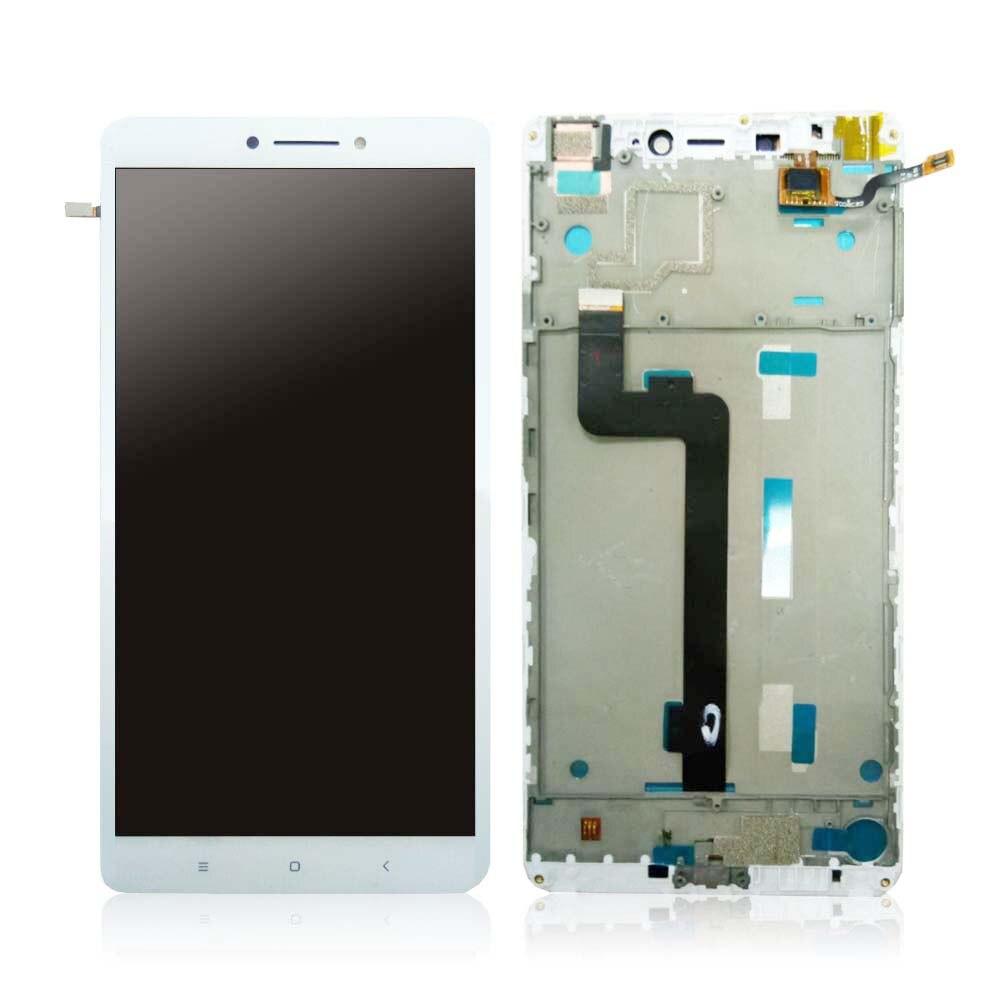imágenes para Blanco/Negro/Oro Para Xiaomi mi Max LCD Screen Display & Touch Asamblea de Pantalla con marco + Herramientas