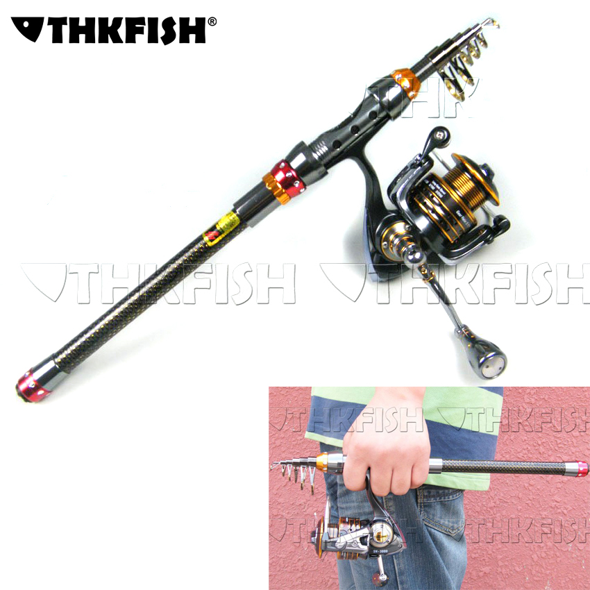 2.1M Fishing Rod Reel Kit Telescopic Spinning Rods Portable Mini Pen fish rod telescope Spin Fishing Pole Rod Reel Combo Tackle fish hunter road asian pole lightning rod grips quake 2 2 m mh tune fishing rods lrtc3 762mh