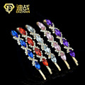 1 PCS Multi Colors Rhinestone Hair Accessaries Crystal Wheat Hairpins Barrettes Hair clips for women Hair Ornaments