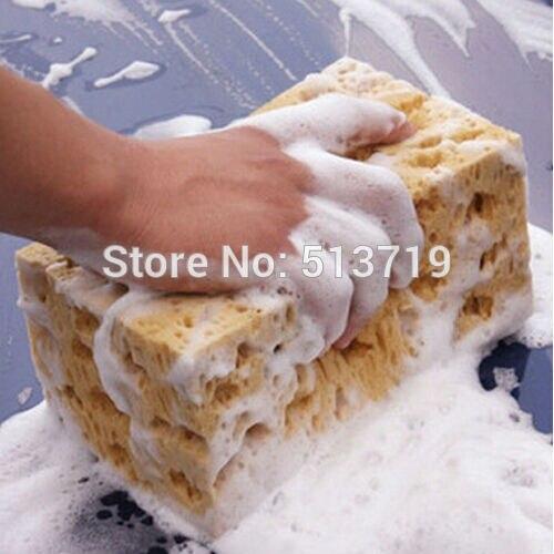 Dongzhen Авто Мини Желтый авто стиральная Тематические товары про рептилий и земноводных губка блок автомобиль-Стайлинг