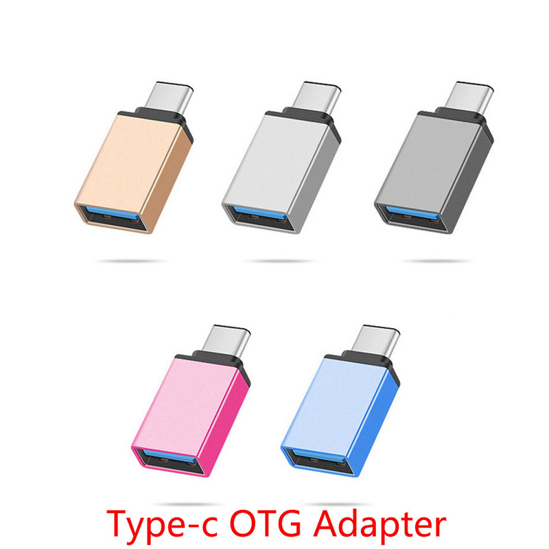 USB Type c Adapter OTG Converter USB 3.0 Convert to Type C USB-C Port Adapter Sync data for oneplus 6t 6 huawei samsung LG pc