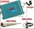 Жк-дисплей GSM 900 мГц мобильный телефон GSM 980 усилитель сигнала, Повторитель сигнала gsm, Сотовый телефон усилитель с кабелем + антенна