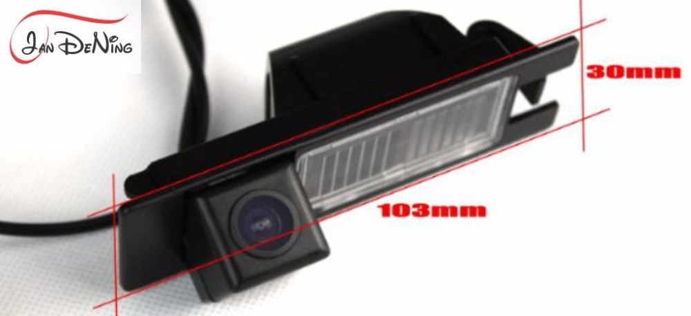 JanDeNing HD CCD Car Rear View Parking Backup Reverse font b Camera b font License Plate