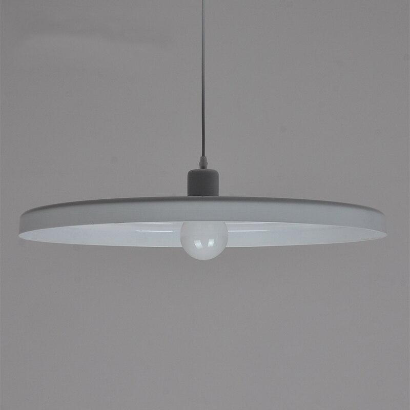 Modern TossB Disc Pendant Lamps Design Dinning Kitchen Room Lighting Pendant Aluminum Vintage Industrial Light Fixtures 110 220V