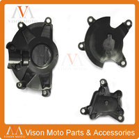 Motorcycle Engine Stator Side Clutch Ignition Cover Protection For YAMAHA YZF R1 YZFR1 YZF R1 2009 2010 2011 2012 2013 2014