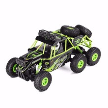 wltoys 18628 rc car 1:18 six-wheel drive climbing 2.4G remote control big foot off-road vehicle large size 38cm