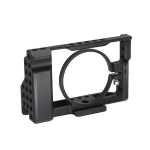 Image 2 - RX100M3 / RX100M4 / RX100M5 Camera Cage for Sony DSC RX100 III(M3) IV(M4) V(M5) DSLR Camera Case Cage Camera Rig Cold Shoe