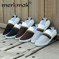 New 2014 fashion Men's flats Breathable Canvas Casual Shoes men flat shoes Slip-On Slippers men flats drop shipping LS004