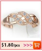 лидер продаж роза золото цвет Украине звезд стиль ювелирные изделия для женщин кольца для для женщин хойяс моды подарок
