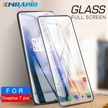 9D Full Glue Tempered Glass For OnePlus 7 Screen Protector Protective Phone pro Cover Film
