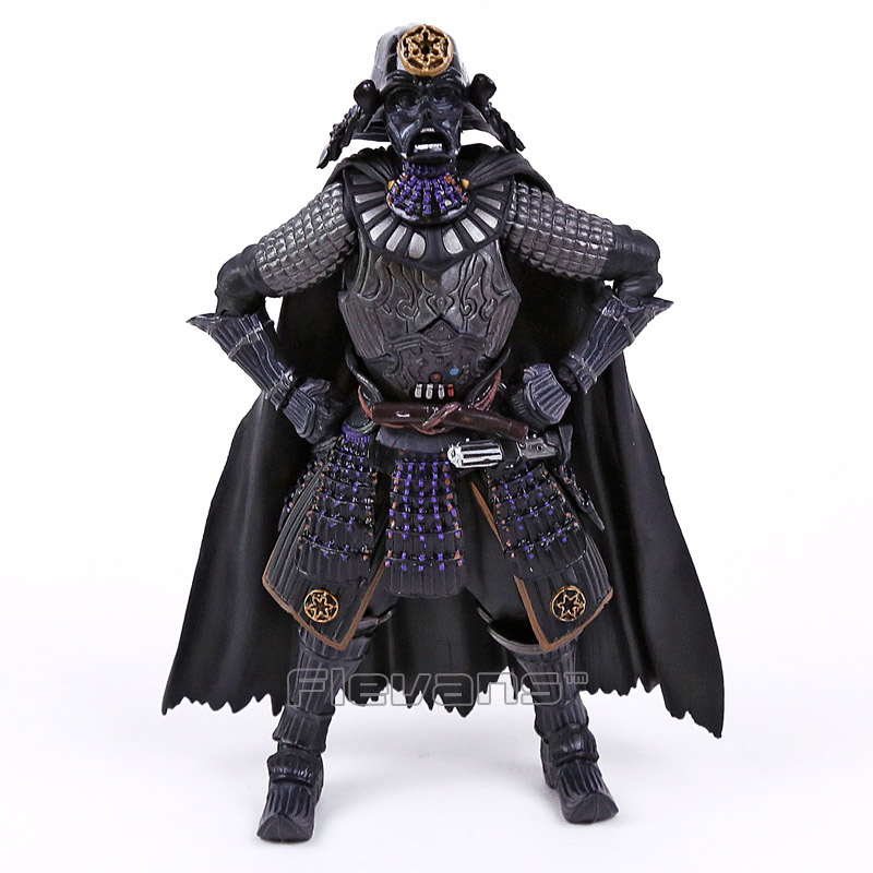 Star Wars MOVIE REALIZATION Samurai Taisho Darth Vader PVC Action Figure Collectible Model Toy star wars action figure imperial stormtrooper sic samurai taisho pvc 170mm realization anime star wars model toys tobyfancy