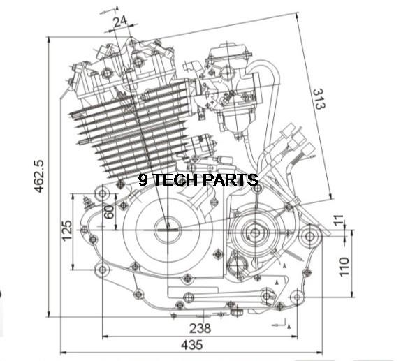 Aliexpress Buy GN300 GN 300cc ENGINE COMPLETE for Motorcycle – Dirt Bike Engine Diagram