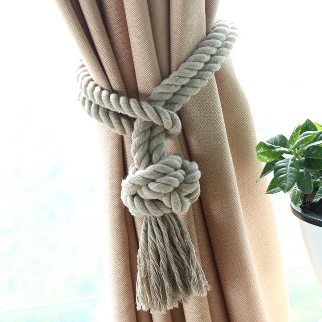 1 st home decor gordijn houder drape gordijn accessoires tassel tie terug woonkamer gordijn touw tieback