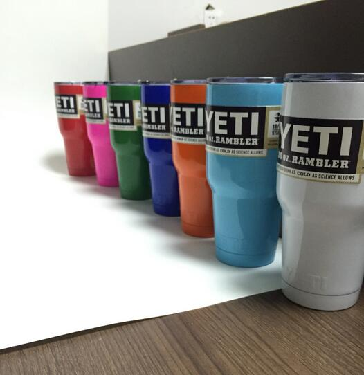 Colorful <font><b>yeti</b></font> cup 30oz Large Capacity <font><b>Stainless</b></font> Steel <font><b>Tumbler</b></font> Mug <font><b>6</b></font> color 30 oz <font><b>Tumbler</b></font> Rambler Cups cooler cup Free Shiping